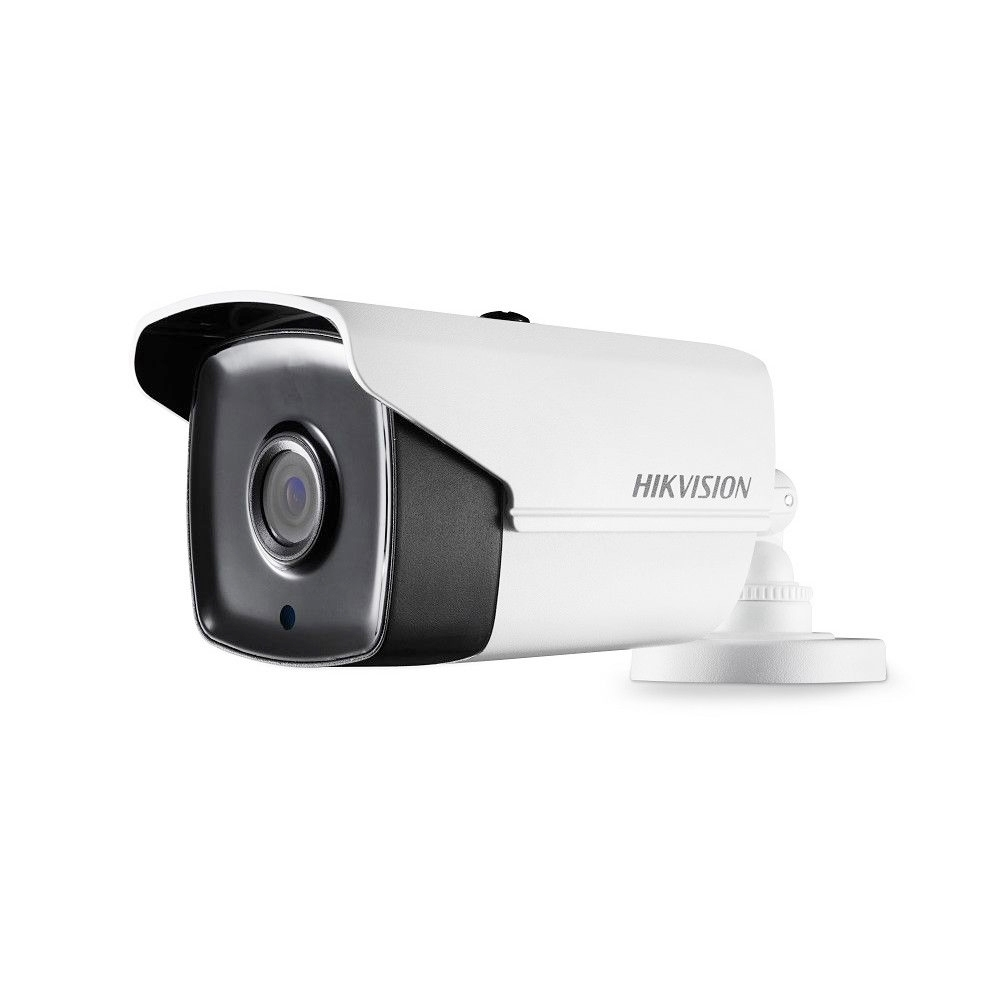 Camera supraveghere exterior Hikvision TurboHD DS-2CE16C0T-IT5F, 1 MP, IR 80 m, 2.8 mm