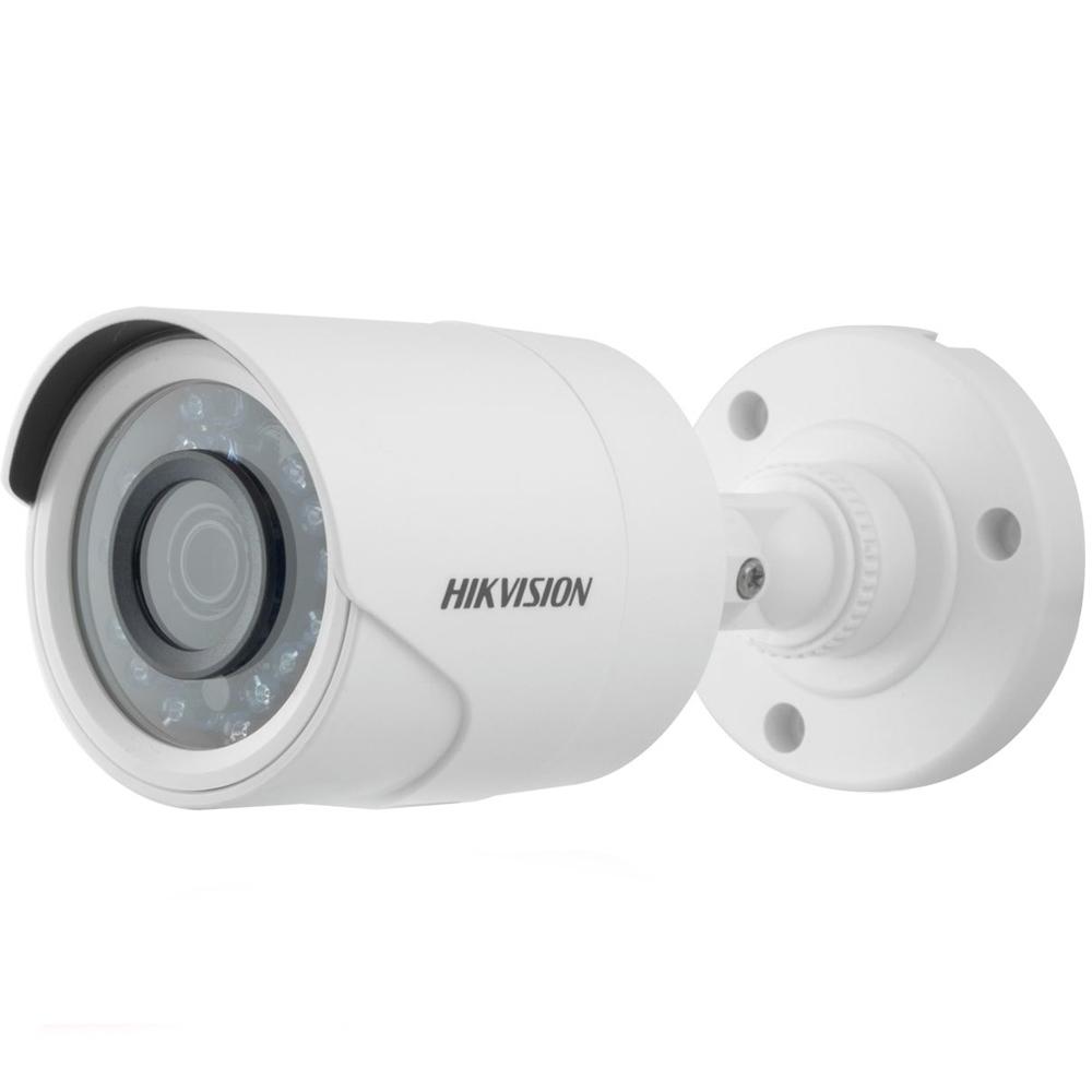 Camera supraveghere exterior Hikvision TurboHD DS-2CE16D0T-IRPF, 2 MP, IR 20 m, 2.8 mm