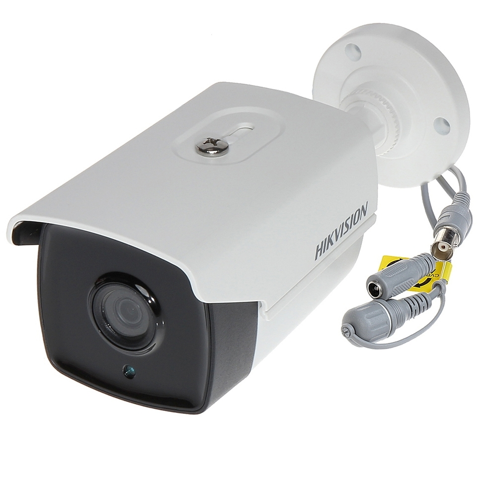 Camera Supraveghere Exterior Hikvision Turbohd Ds-2ce16d0t-it3f, 2 Mp, Ir 40 M, 3.6 Mm