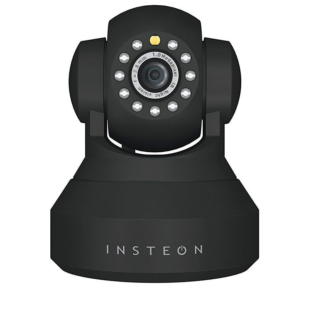 Camera supraveghere IP wireless Insteon 2864-226, 1 MP, IR 8 m, WiFi. negru imagine spy-shop.ro 2021