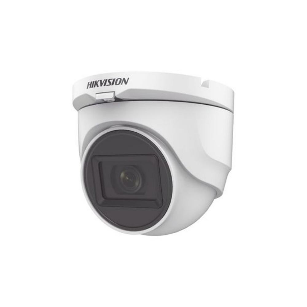 Camera supraveghere Dome HikVision TurboHD DS-2CE76D0T-ITMFS 2.8 mm, 2 MP, IR 30 m, microfon imagine spy-shop.ro 2021