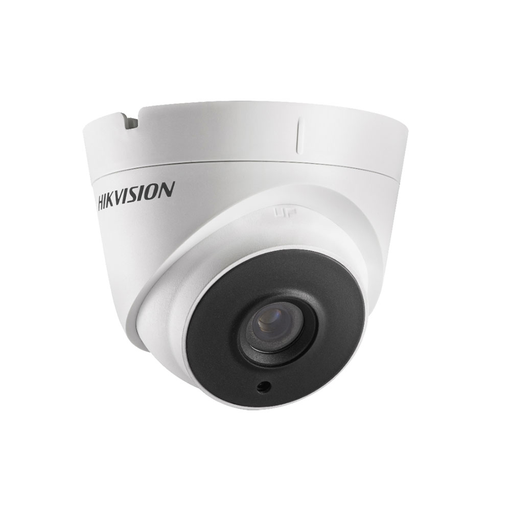 Camera supraveghere Dome Hikvision DS-2CE56D0T-IT1E, 2 MP, IR 20 m, 3.6 mm, PoC