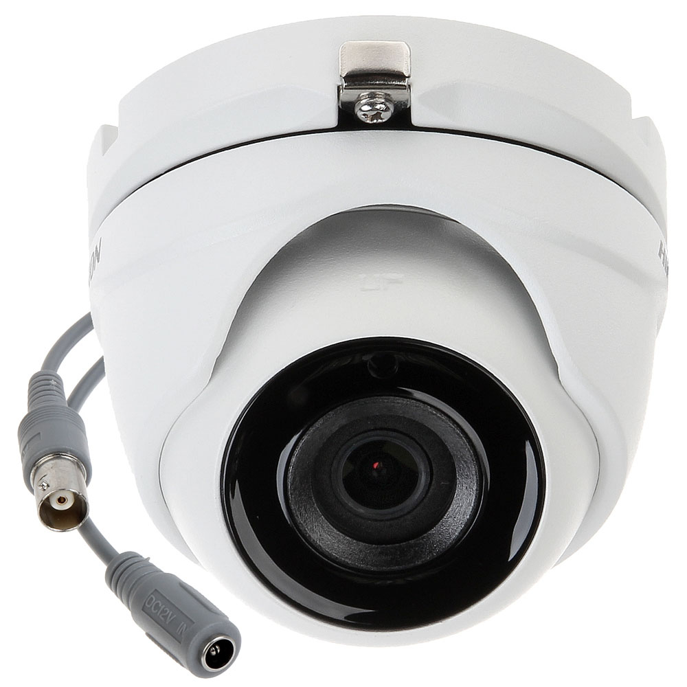 Camera supraveghere Dome Hikvision DS-2CE56D0T-ITME, 2 MP, IR 20 m, 3.6 mm, PoC