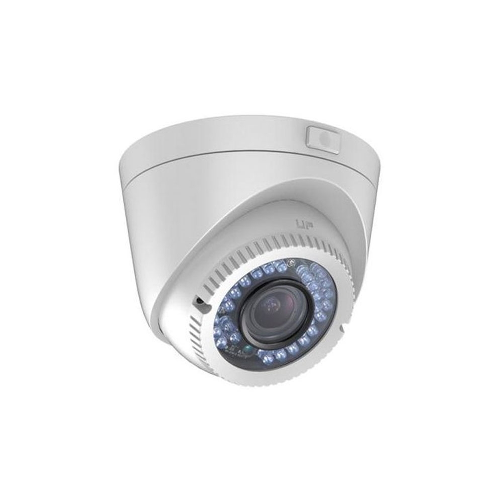 Camera supraveghere Dome Hikvision DS-2CE56D1T-VFIR3F, 2 MP, IR 40 m, 2.8 - 12 mm