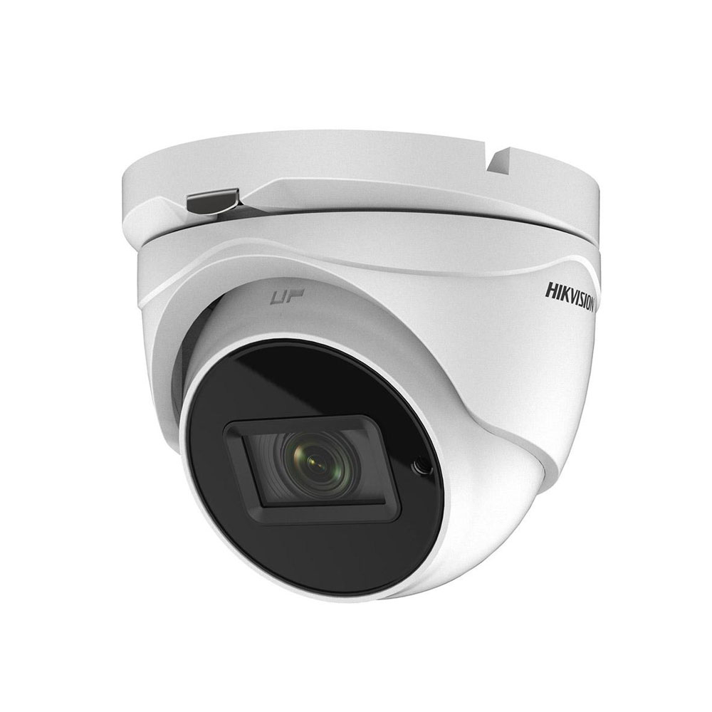 Camera supraveghere Dome Hikvision DS-2CE56H0T-ITMF, 5 MP, IR 20 m, 2.4 mm imagine