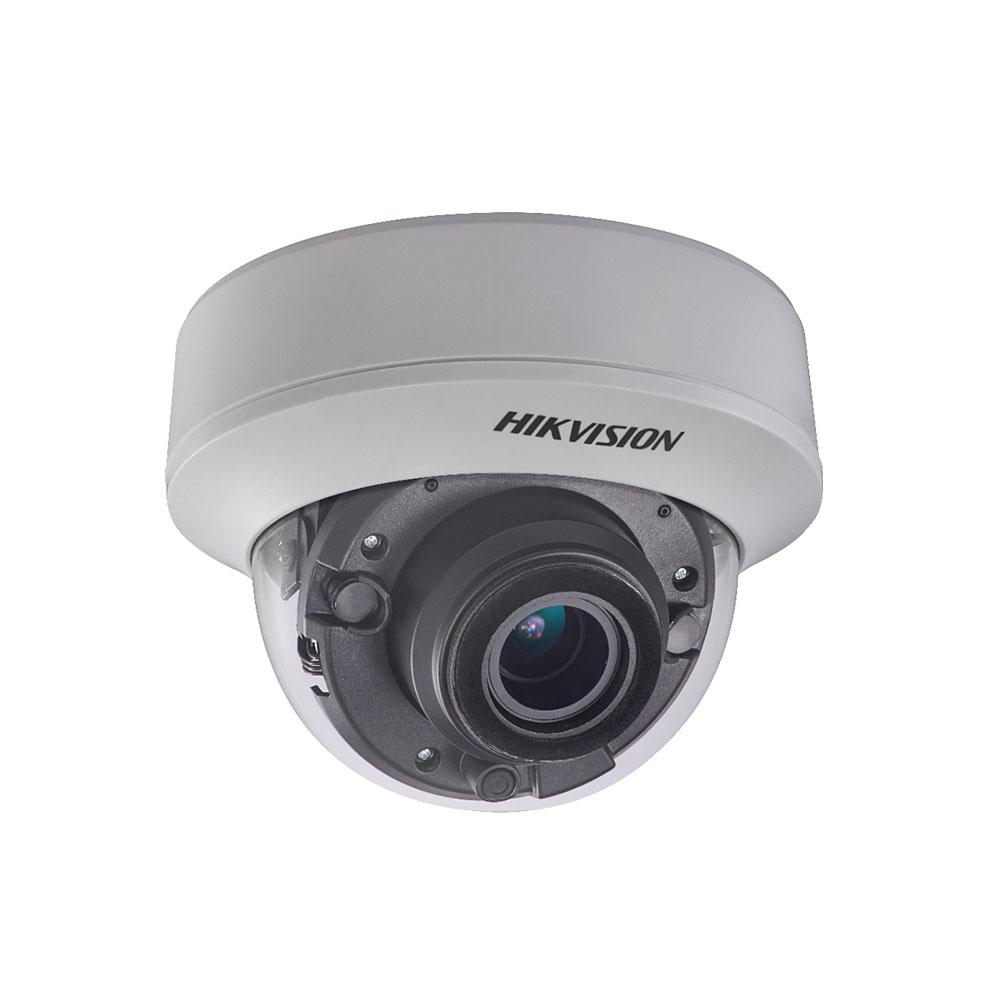 Camera supraveghere Dome Hikvision DS-2CE56H0T-ITZF, 5 MP, IR 40 m, 2.7 - 13.5 mm, motorizat