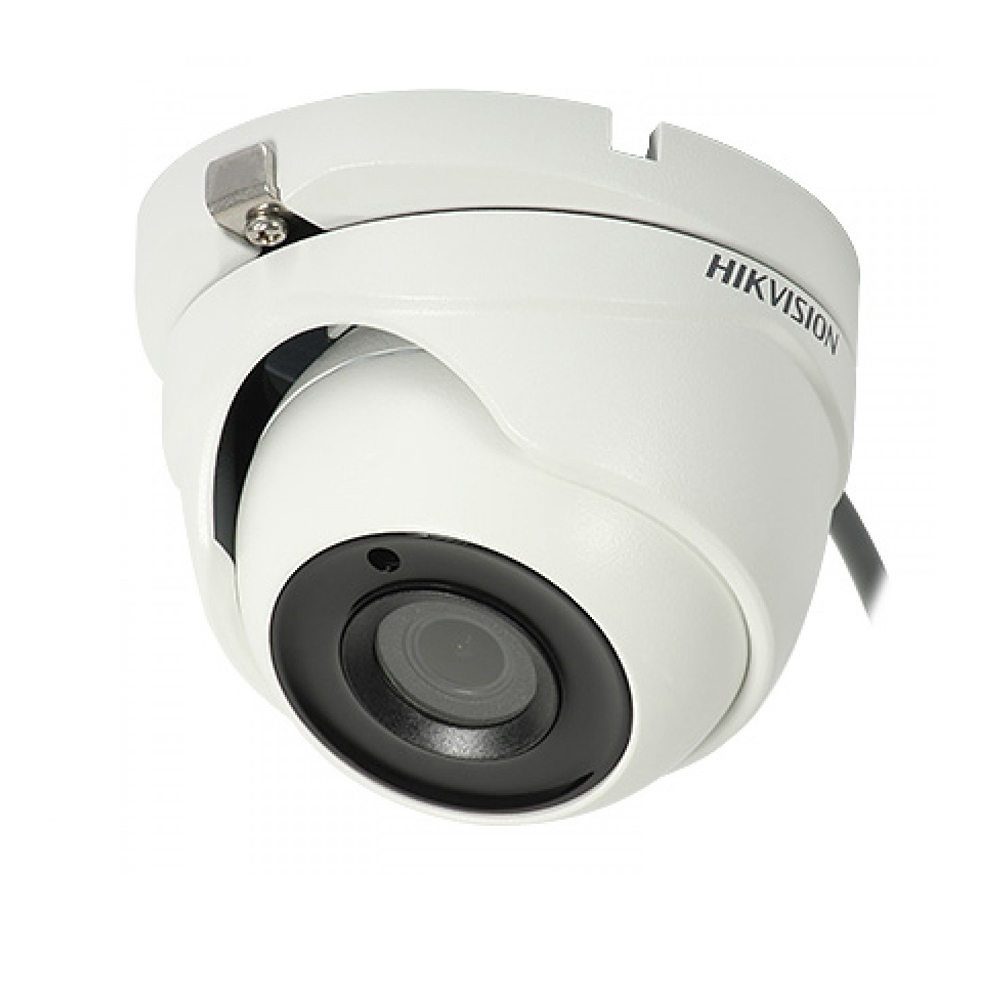 Camera supraveghere Dome Hikvision TurboHD DS-2CE56H1T-ITM, 5 MP, IR 20 m, 2.8 mm