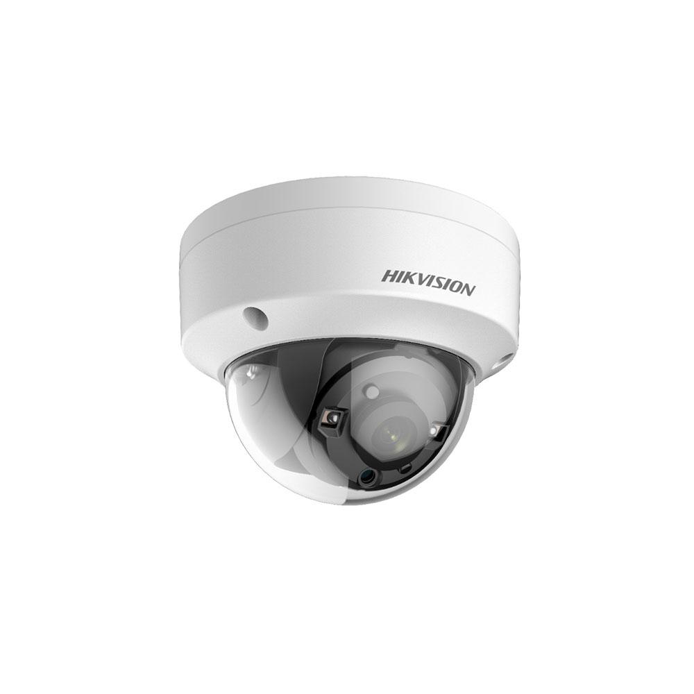 Camera supraveghere Dome Hikvision DS-2CE57U1T-VPITF, 8 MP, IR 30 m, 3.6 mm, IK10