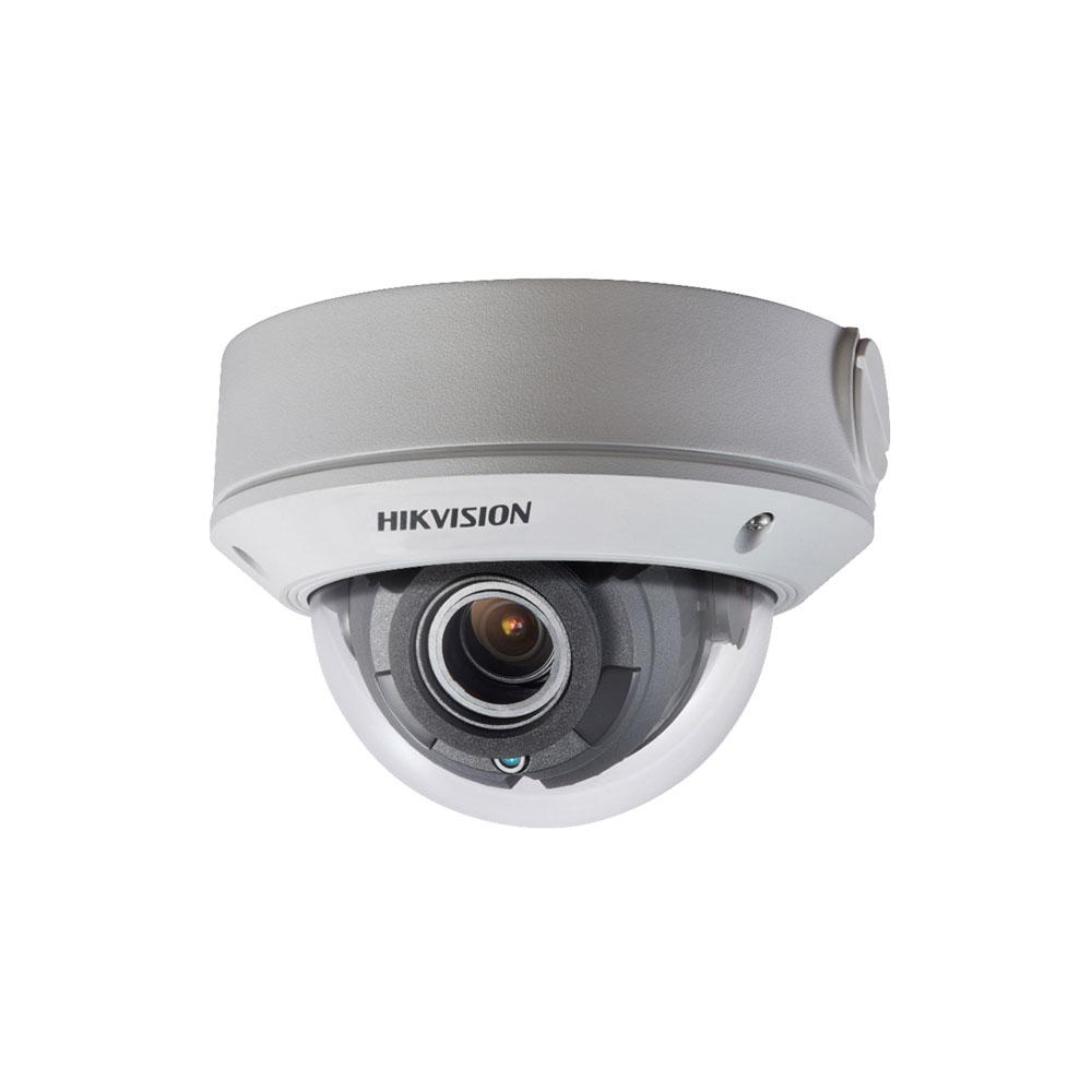 Camera supraveghere Dome Hikvision DS-2CE5AD0T-VPIT3F, 2 MP, IR 40 m, 2.8 - 12 mm, IK10