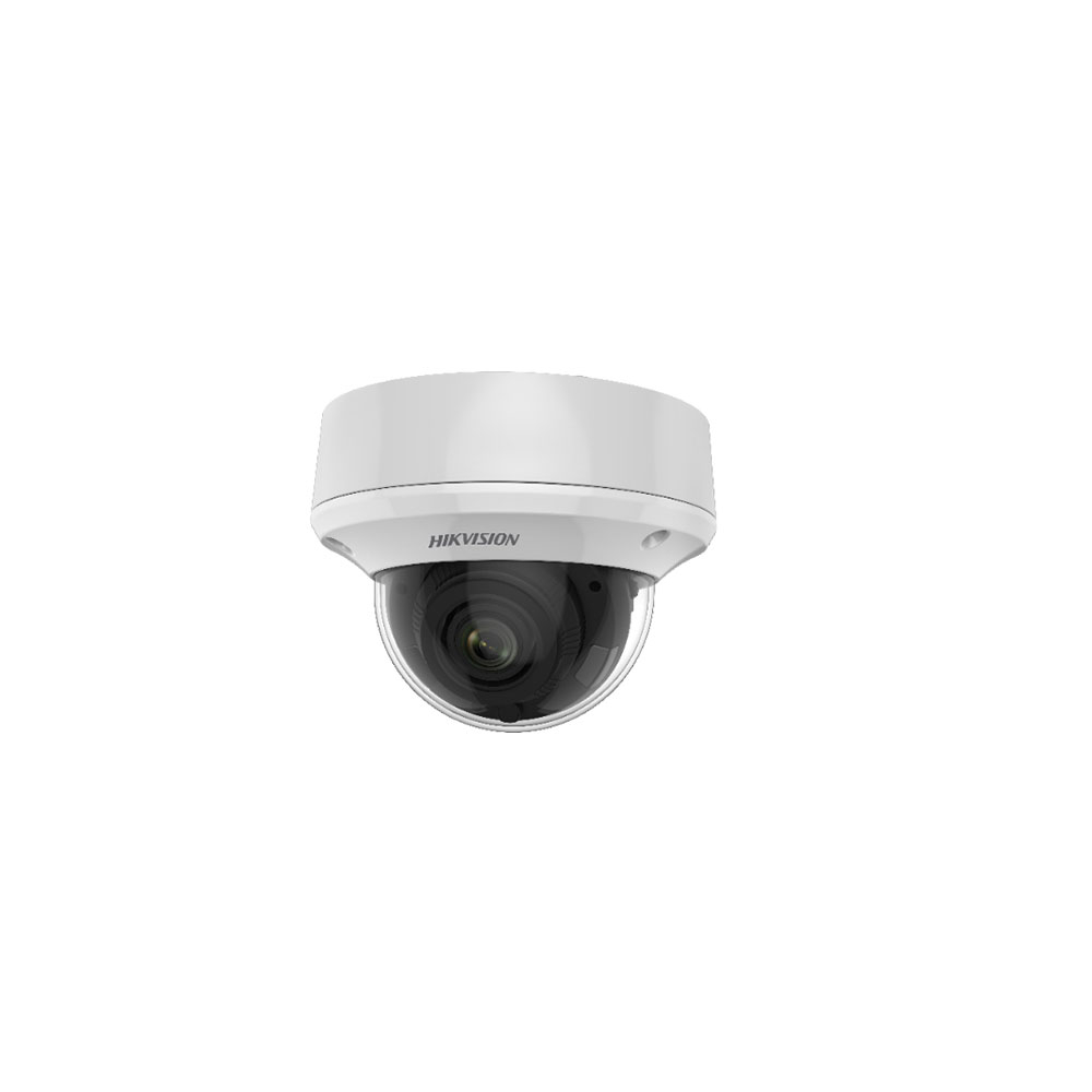 Camera supraveghere Dome Hikvision DS-2CE5AU1T-AVPIT3ZF, 8 MP, IR 60 m, 2.7 - 13.5 mm, motorizat