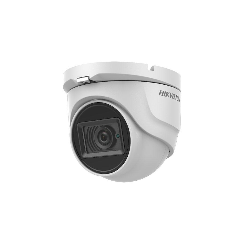 Camera supraveghere Dome Hikvision DS-2CE76U1T-ITMF, 8 MP, IR 30 m, 3.6 mm