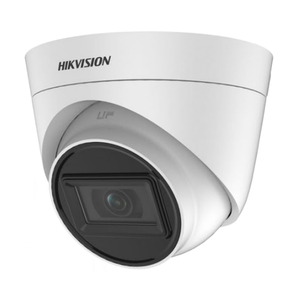Camera supraveghere Dome Hikvision DS-2CE78H0T-IT3FC, 5 MP, IR 40 m, 2.8 mm imagine