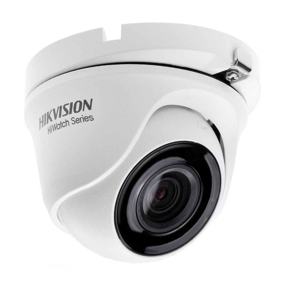 Camera supraveghere Dome Hikvision HiWatch HWT-T120-M-28, 2 MP, IR 20 m, 2.8 mm imagine
