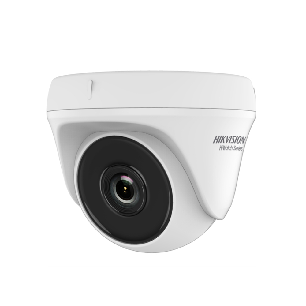 Camera supraveghere Dome Hikvision HiWatch HWT-T110-P-28, 1 MP, IR 20 m, 2.8 mm imagine