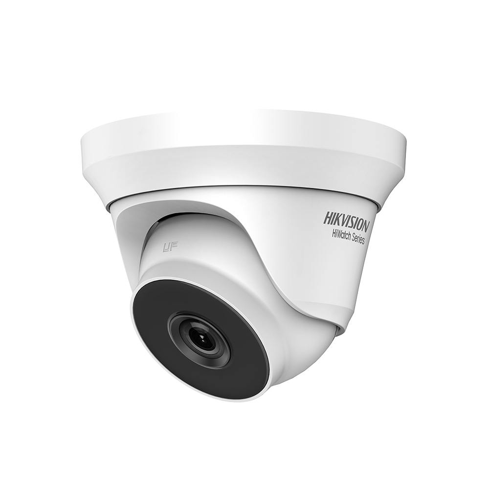 Camera supraveghere Dome Hikvision HiWatch HWT-T240-M-28, 4 MP, IR 40 m, 2.8 mm imagine