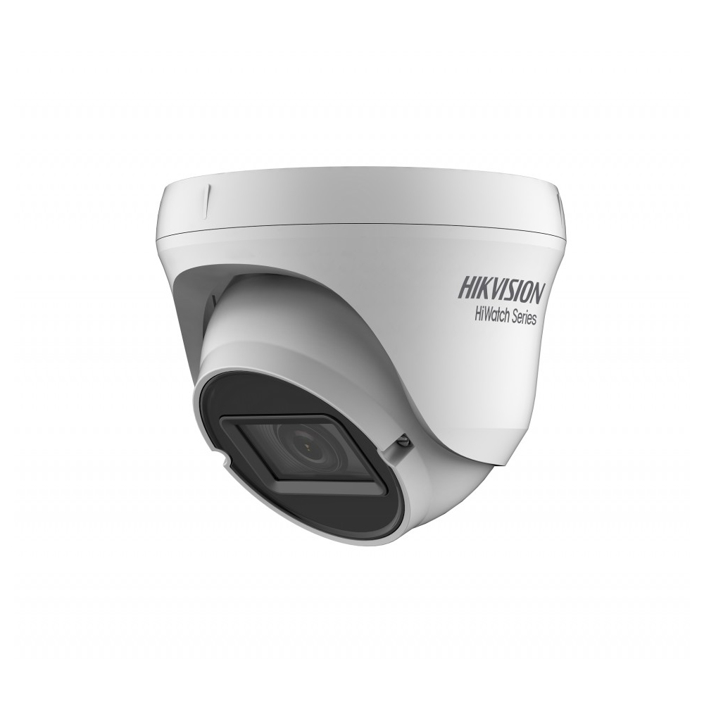 Camera supraveghere Dome Hikvision HiWatch HWT-T340-VF, 4 MP, IR 40 m, 2.8 - 12 mm imagine