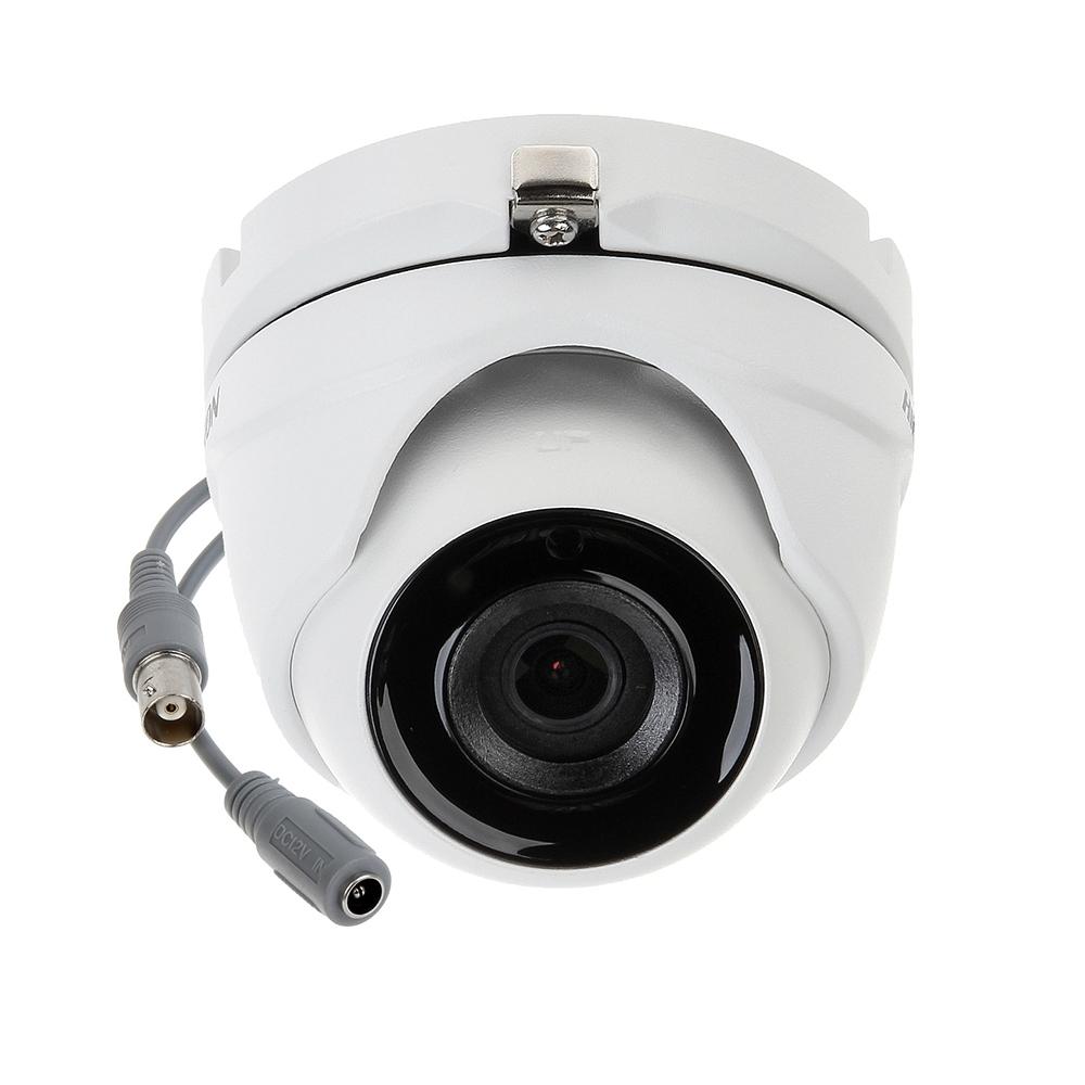 Camera supraveghere Dome Hikvision TurboHD POC DS-2CE56D8T-ITME, 2 MP, IR 20 m, 2.8 mm
