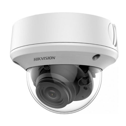 Camera supraveghere Dome Hikvision Starlight TurboHD DS-2CE5AD0T-VPIT3ZF, 2 MP, IR 70 m, 2.7-13.5 mm, motorizat imagine