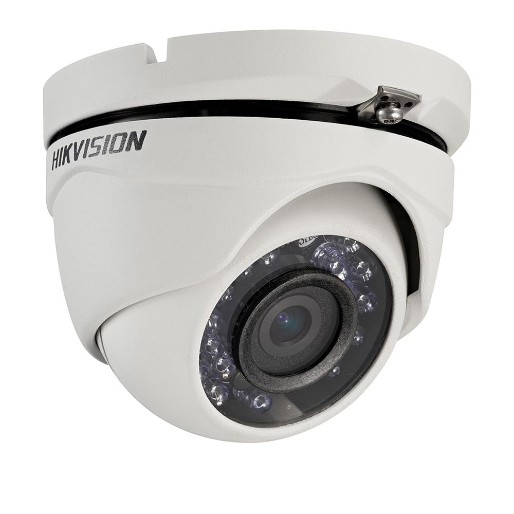 Camera supraveghere Dome Hikvision TurboHD DS-2CE56C0T-IRMF, 1 MP, IR 20 m, 2.8 mm imagine spy-shop.ro 2021