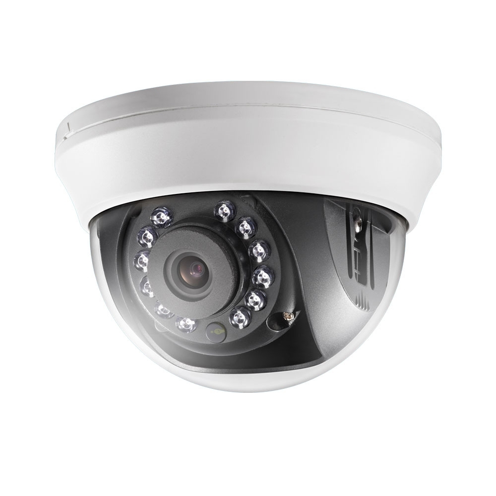 Camera supraveghere Dome Hikvision TurboHD DS-2CE56D0T-IRMMF, 2 MP, IR 20 m, 3.6 mm