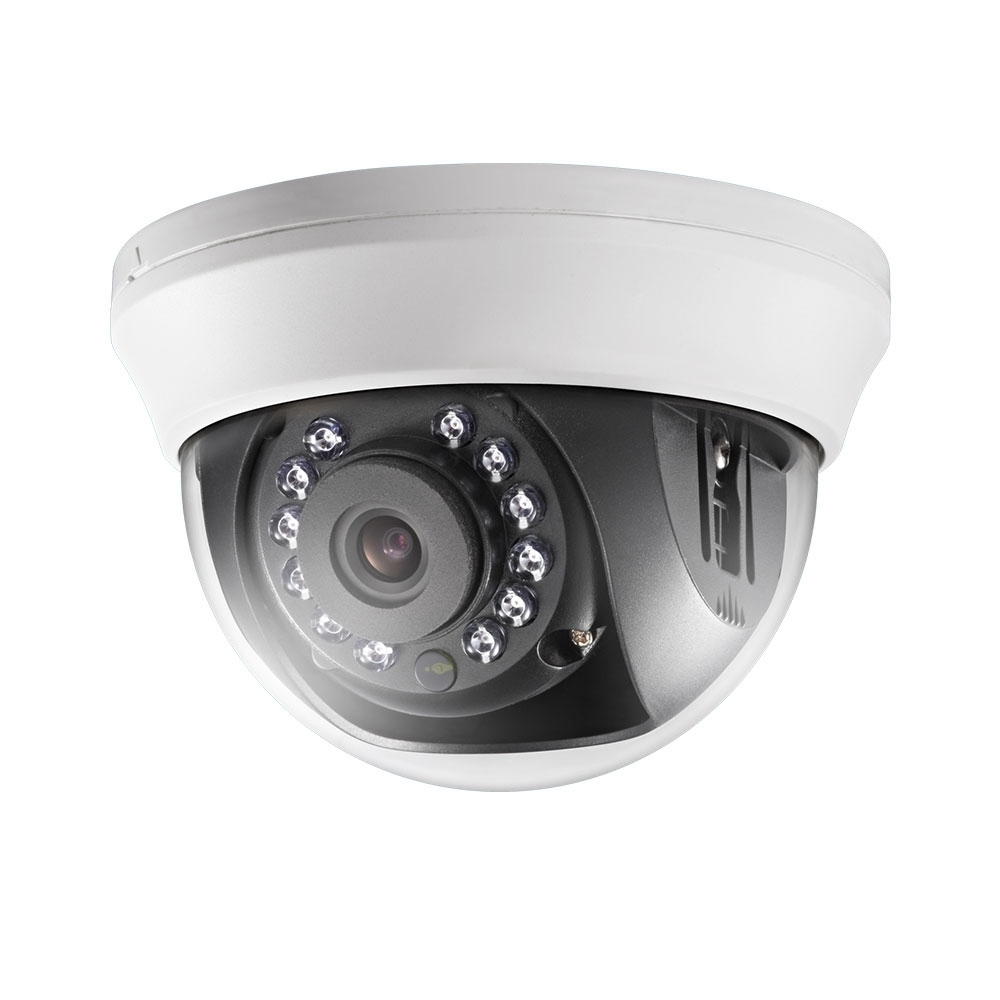 Camera supraveghere Dome Hikvision TurboHD DS-2CE56D0T-IRMMF 2 MP, IR 20 m, 2.8 mm