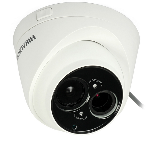 Camera supraveghere Dome Hikvision TurboHD DS-2CE56D5T-VFIT3, 2 MP, IR 50 m, 2.8 - 12 mm