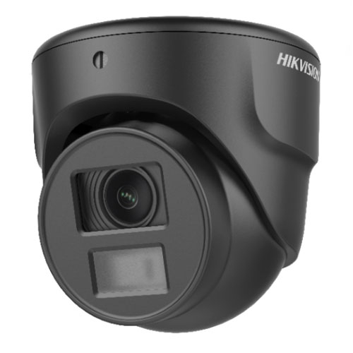 Camera supraveghere Dome Hikvision TurboHD 3.0 Black DS-2CE70D0T-ITMF, 2 MP, IR 20 m, 2.8 mm imagine
