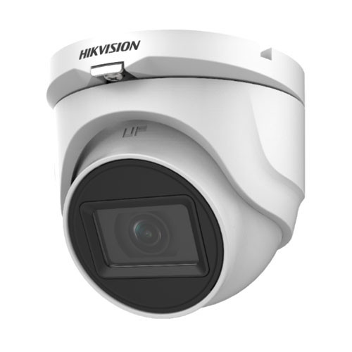 Camera supraveghere Dome Hikvision TurboHD 4.0 DS-2CE76H0T-ITMF C, 5 MP, IR 30 m, 2.8 mm imagine