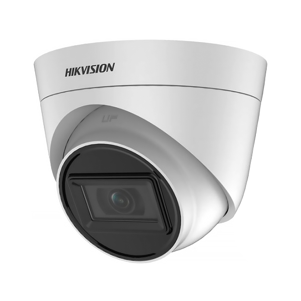 Camera supraveghere Dome Hikvision TurboHD 4.0 DS-2CE78H0T-IT3FS, 5 MP, IR 40 m, 2.8 mm imagine