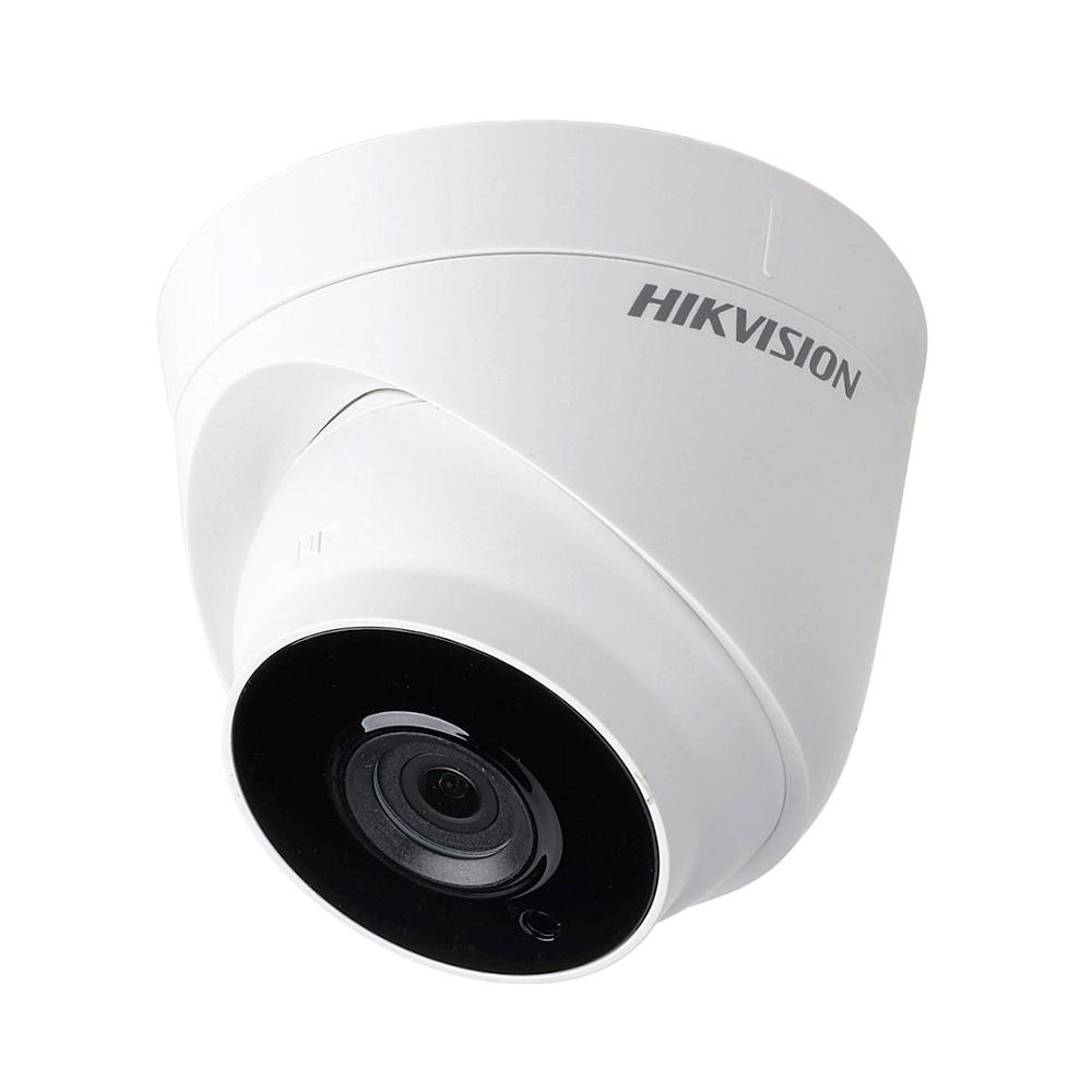 Camera supraveghere Dome Hikvision TurboHD DS-2CE56C0T-IT3F, 1 MP, IR 40 m, 2.8 mm imagine spy-shop.ro 2021