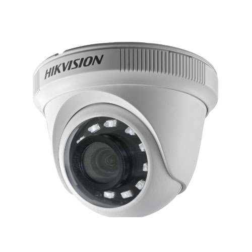 Camera supraveghere Dome Hikvision TurboHD DS-2CE56D0T-IRPF C, 2 MP, IR 20 m, 2.8 mm imagine