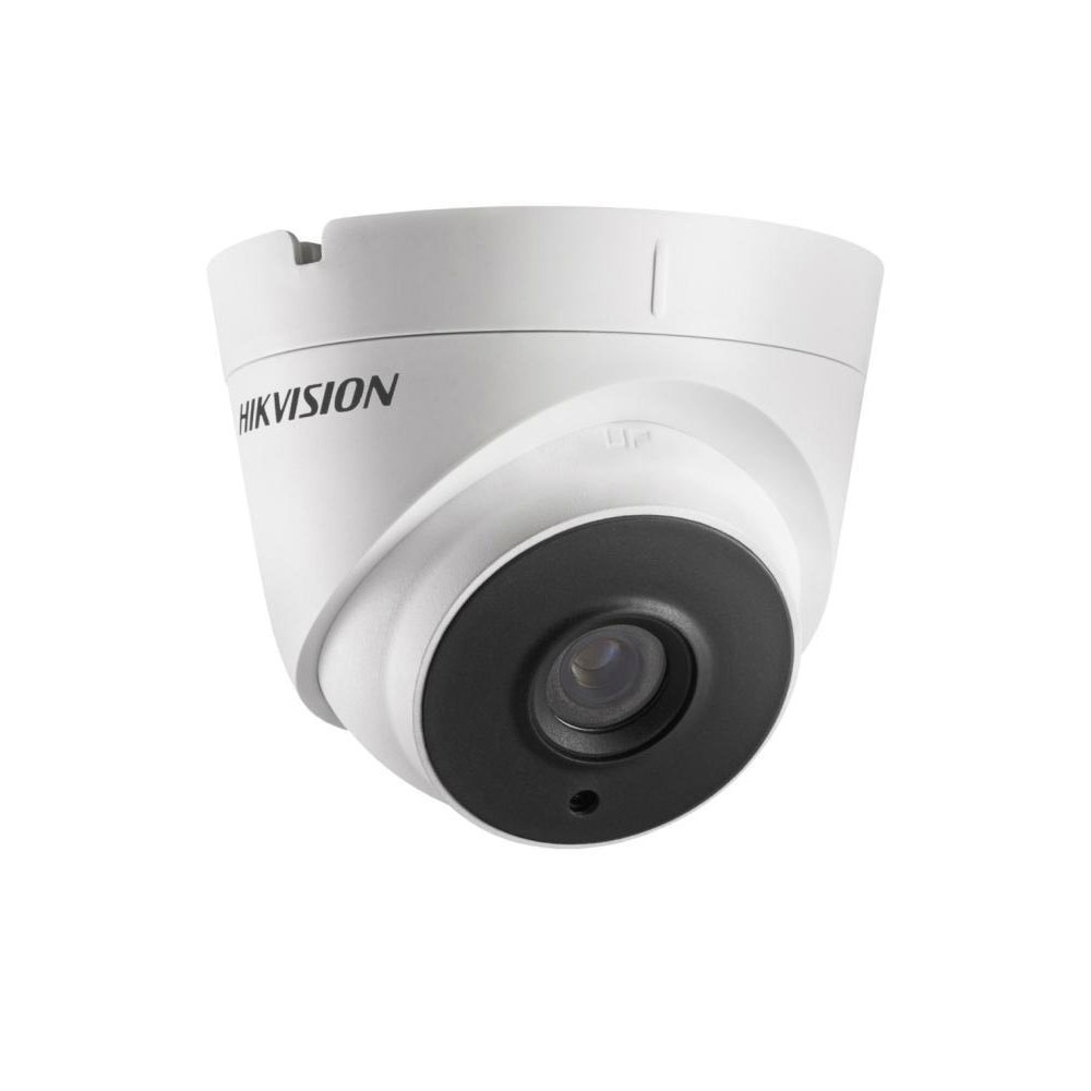 Camera supraveghere Dome Hikvision TurboHD DS-2CE56D0T-IT3F, 2 MP, IR 40 m, 2.8 mm