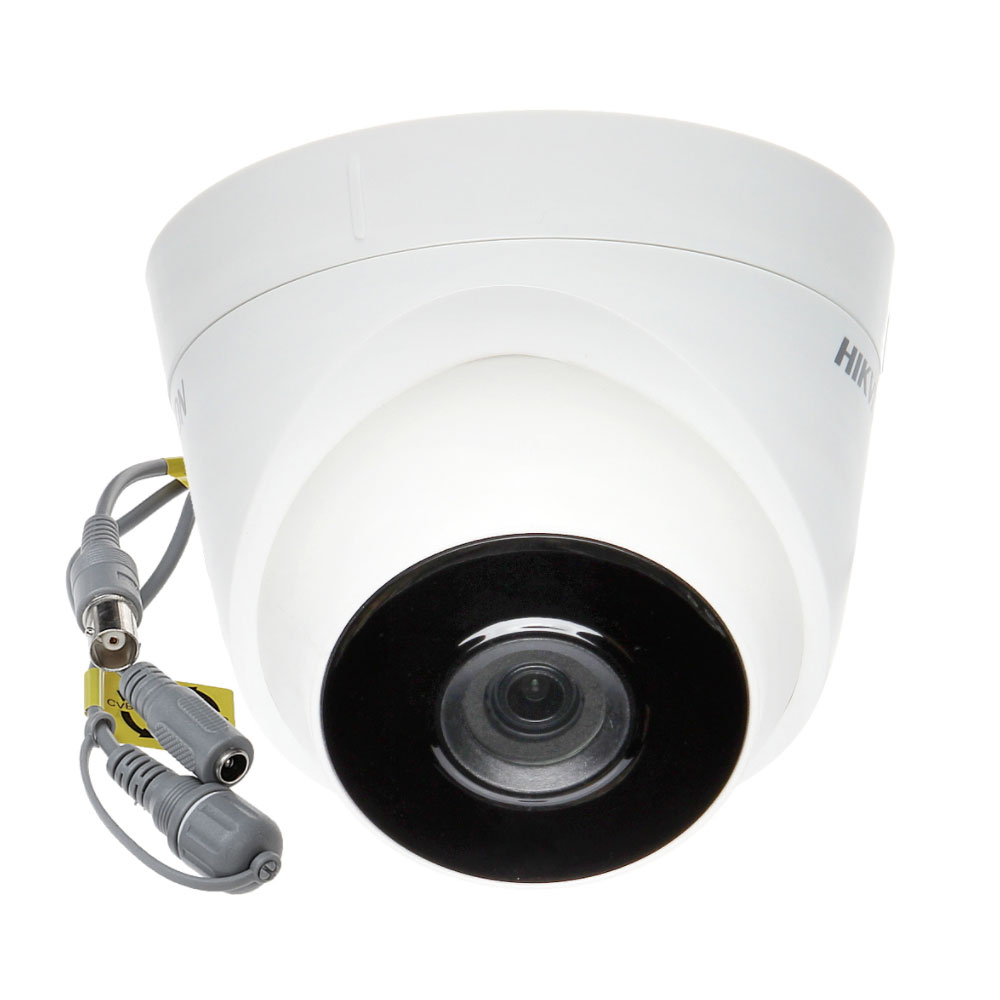 Camera supraveghere Dome Hikvision TurboHD DS-2CE56D0T-IT3F C, 3.6 mm, 2 MP, IR 40 m imagine