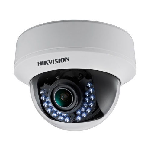 Camera supraveghere Dome Hikvision TurboHD DS-2CE56D1T-VFIR, 2 MP, IR 30 m, 2.8 - 12 mm
