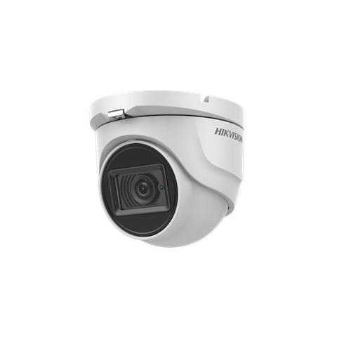 Camera supraveghere Dome Hikvision TurboHD DS-2CE76U1T-ITMF, 8 MP, IR EXIR 30 m, 2.8 mm
