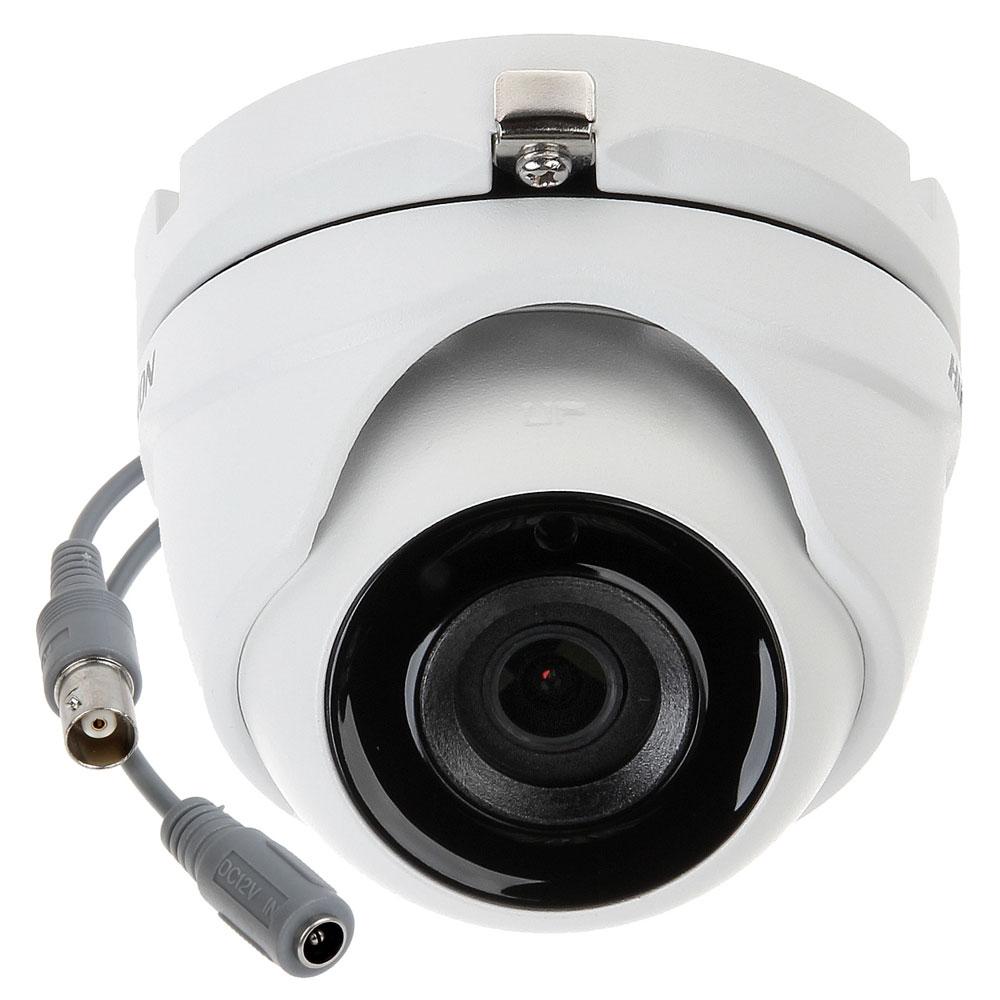 Camera supraveghere Dome Hikvision Ultra Low Light DS-2CE56D8T-ITME, 2 MP, IR 20 m, 3.6 mm, PoC