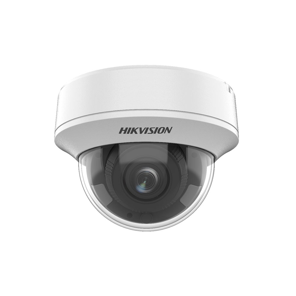 Camera supraveghere Dome Hikvision Ultra Low Light DS-2CE56H8T-AITZF, 5 MP, IR 60 m, 2.7 - 13.5 mm, motorizat