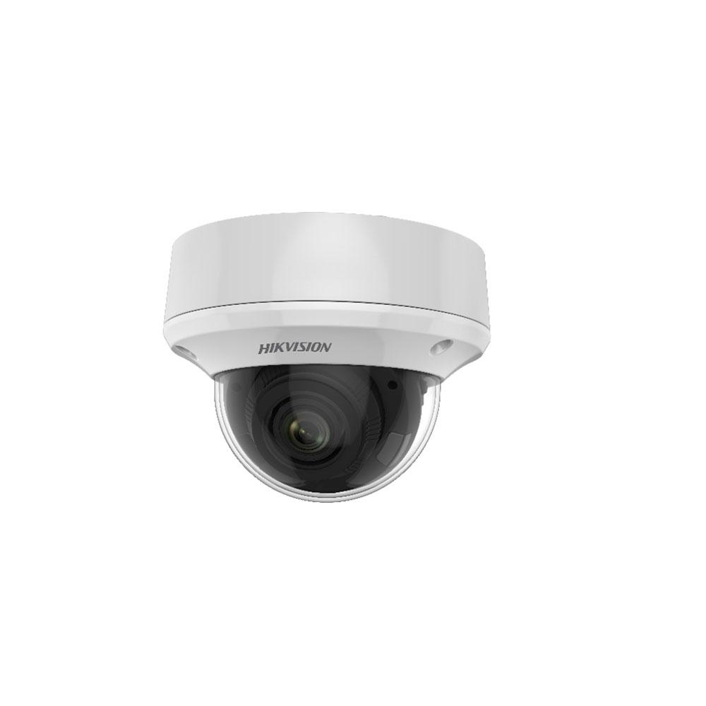 Camera supraveghere Dome Hikvision Ultra Low Light DS-2CE5AD8T-VPIT3ZF, 2 MP, IR 60 m, 2.7 - 13.5 mm, motorizat, IK10