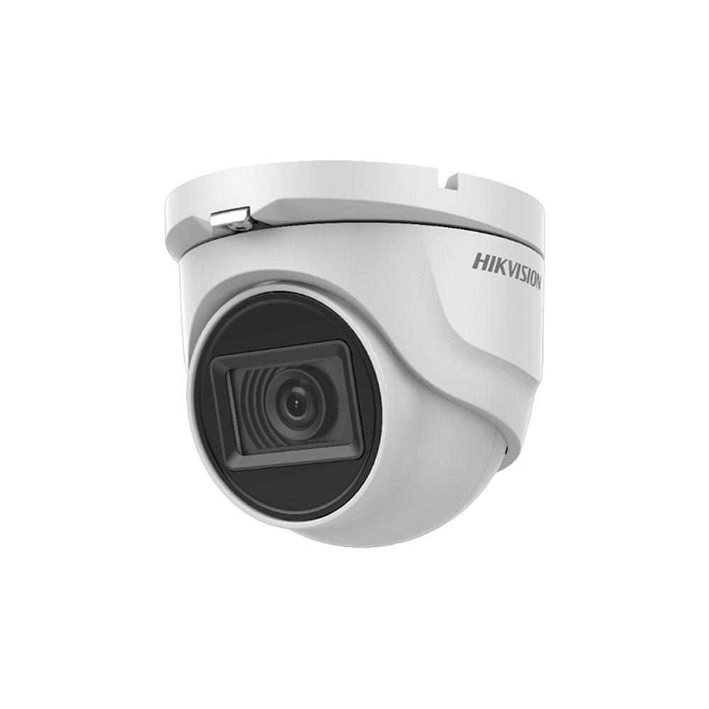 Camera supraveghere Dome Hikvision Ultra Low Light DS-2CE76U7T-ITMF, 8 MP, IR 30 m, 3.6 mm