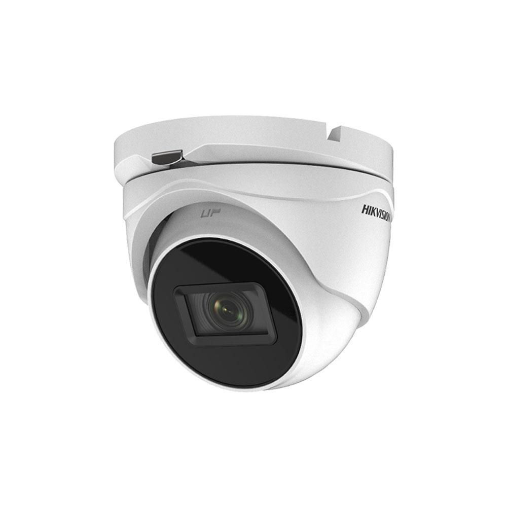 Camera supraveghere Dome Hikvision Ultra Low Light DS-2CE79H8T-AIT3ZF, 5 MP, IR 60 m, 2.7 - 13.5 mm, motorizat