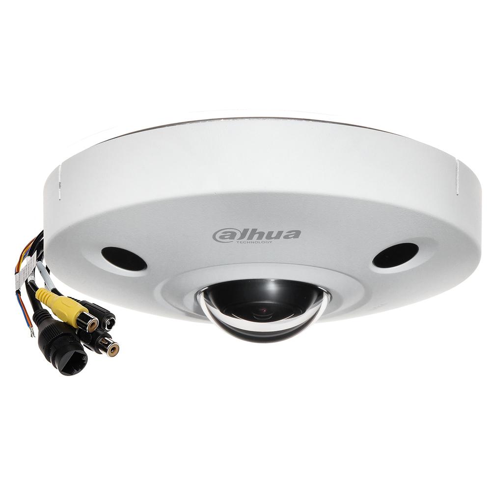 Camera supraveghere Dome IP Dahua Panomorph ImmerVision Enables IPC-EBW8630-IVC, 6 MP, IR 10 m, 1.3 mm, microfon