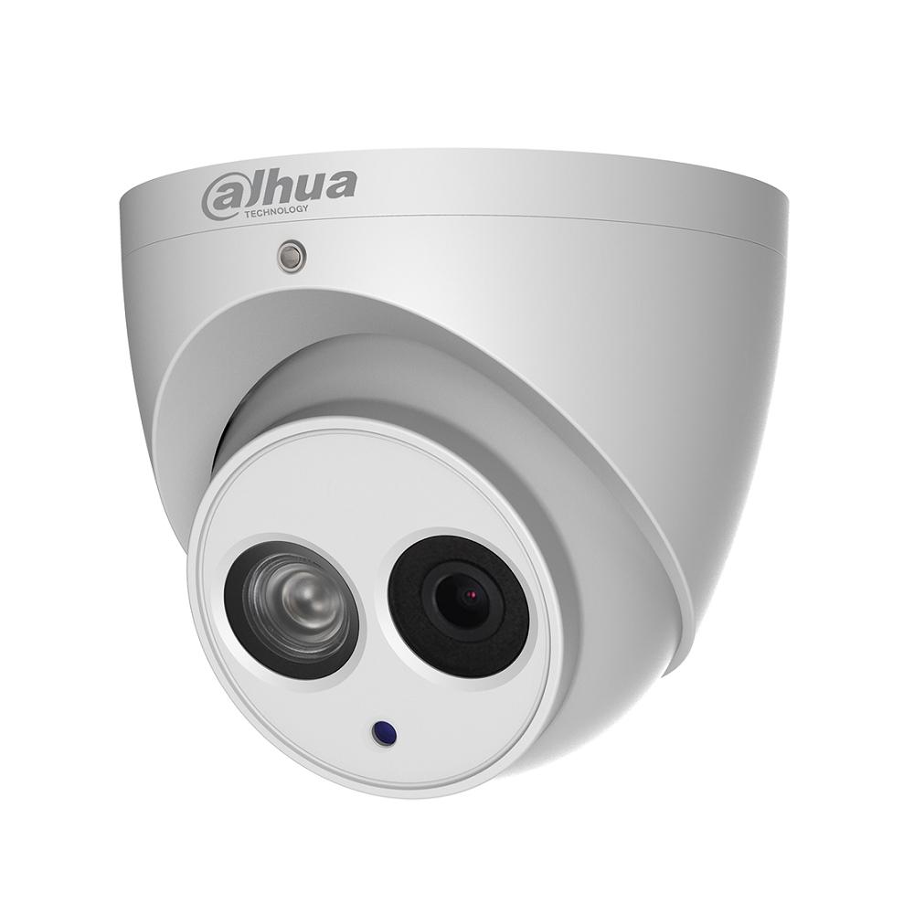 Camera supraveghere Dome IP Dahua IPC-HDW4831EM-ASE-0400B, 8 MP, IR 50 m, 4 mm, microfon imagine spy-shop.ro 2021