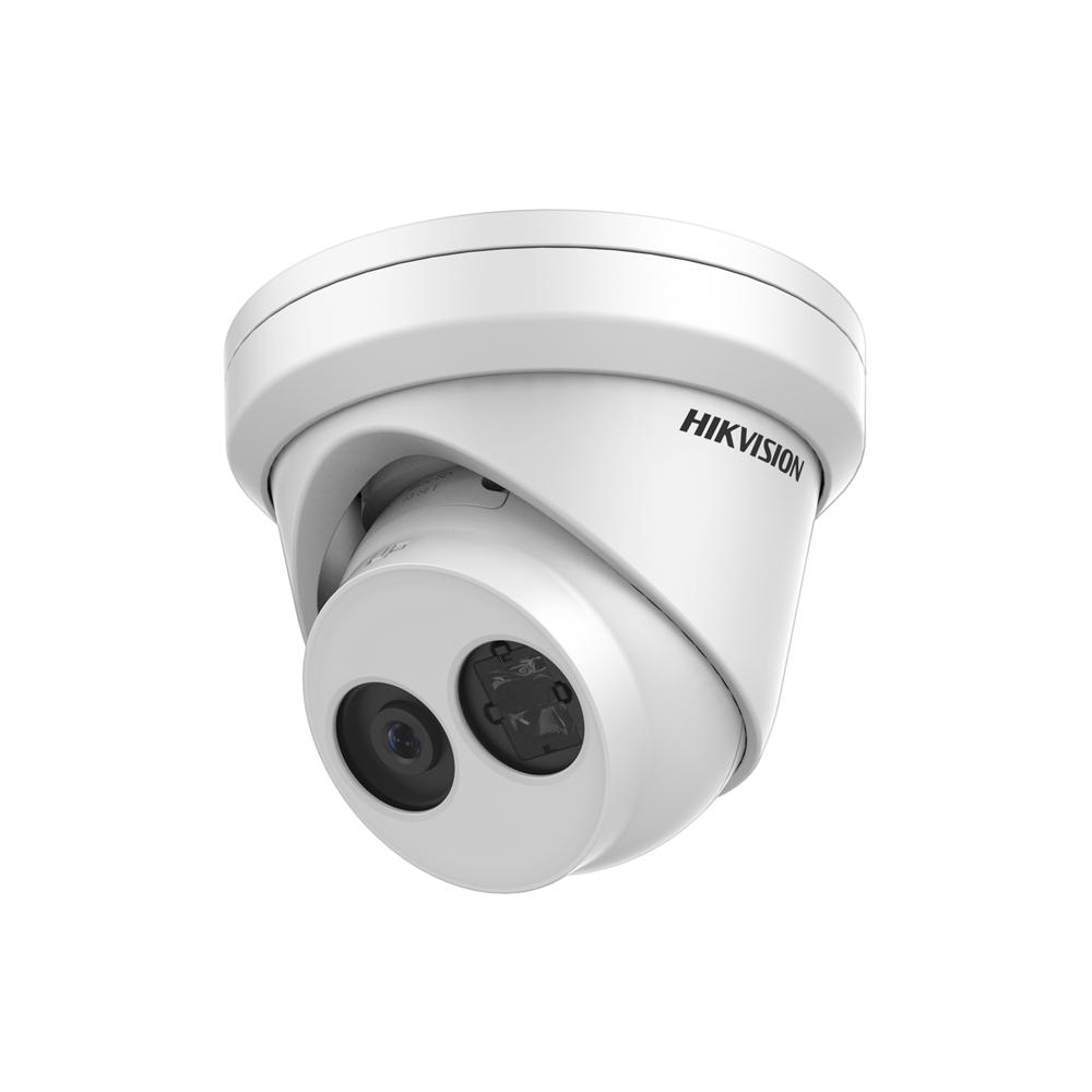 Camera supraveghere Dome IP Hikvision DS-2CD2343G0-IU, 4 MP, IR 30 m, 2.8 mm, microfon imagine spy-shop.ro 2021