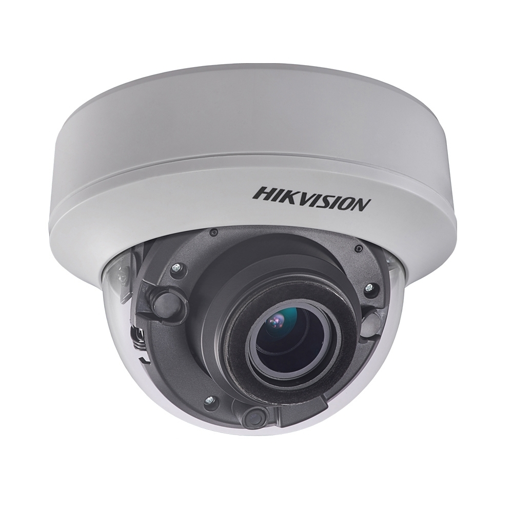 Camera supraveghere Dome Hikvision Ultra Low Light TurboHD DS-2CE56D8T-ITZ, 2 MP, IR 20 m, 2.8 - 12 mm