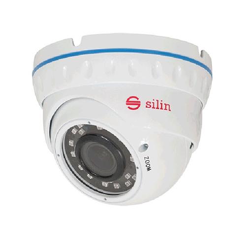 Camera supraveghere Dome Silin SCT-2430DV, 2.4 MP, IR 30 m, 2.8 - 12 mm