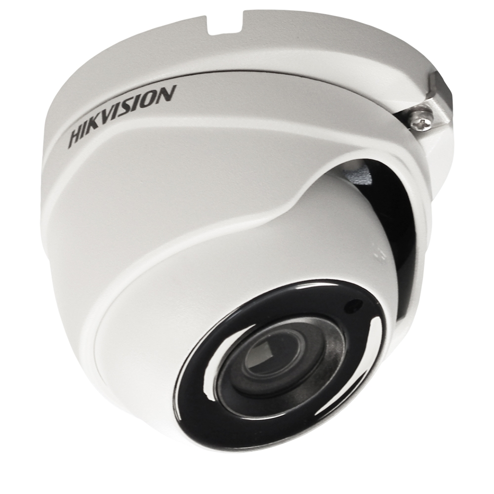 Camera supraveghere Dome Hikvision TurboHD DS-2CE56F1T-ITM, 3 MP, IR 20 m, 2.8 mm
