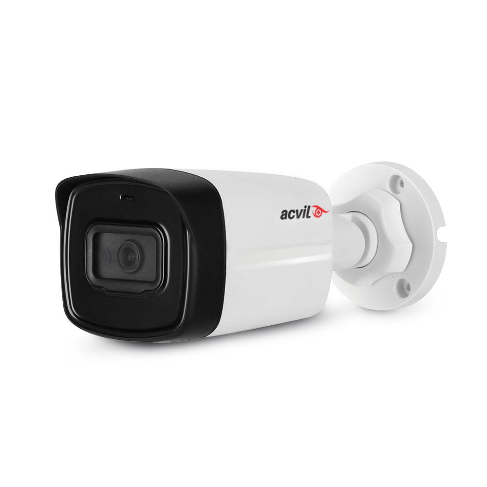 Camera supraveghere exterior Acvil Pro ACV-EF80-5M, 5 MP, IR 80 m, 3.6 mm, microfon