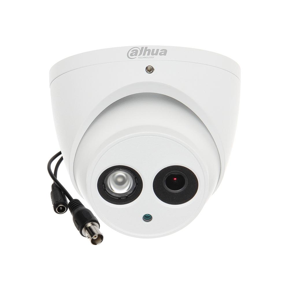 Camera supraveghere Dome Dahua HAC-HDW1200EM-POC-0280B, 2 MP, IR 50 m, 2.8 mm, PoC imagine spy-shop.ro 2021