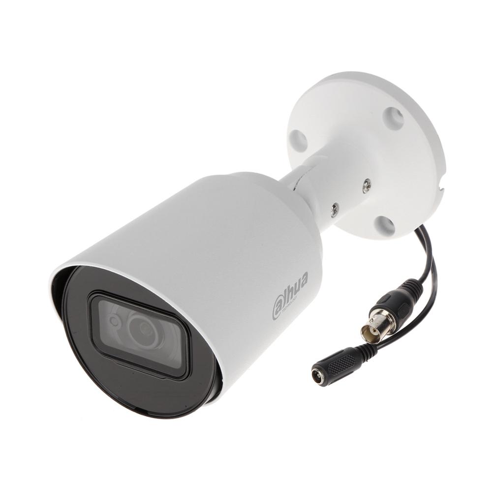 Camera supraveghere exterior Dahua HAC-HFW1200T-A-0280B, 2 MP, IR 30 m, 2.8 mm, microfon