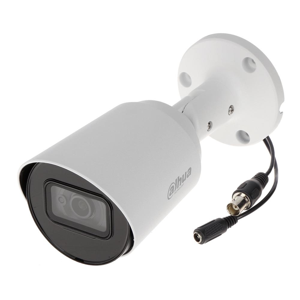 Camera Supraveghere Exterior Dahua Hac-hfw1500t-0280b, 5mp, Ir 30 M, 2.8 Mm